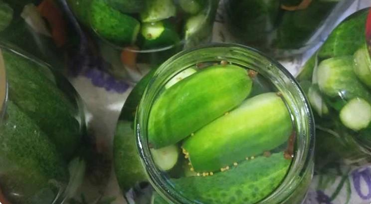 Рецепт консервованих огірків, на смак як магазинні